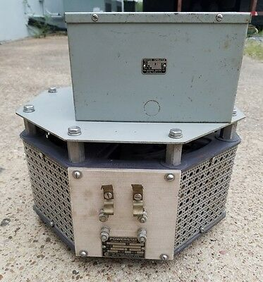 Superior Electric PowerStat Variable Transformer S22135-B, 240V, 1Ph, 28A 6.7kVA