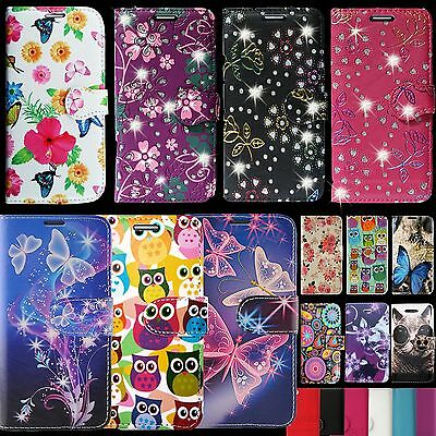 For Nokia 3 5 6 Leather Wallet Book Style Opening Fone Phone Protect Case Cover