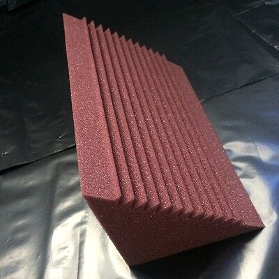 4 x Studio Acoustic Foam Corner Bass Trap Sound Absorption Treatment Proofing