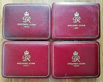 1937 Gold Proof Coin Set Box Only