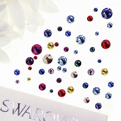 Genuine SWAROVSKI Flat Back Crystals Hotfix and Non Hotfix Rhinestones Gems