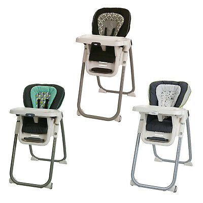 New Graco TableFit 8-Position Baby Infant High Chair, Rittenhouse or Finley