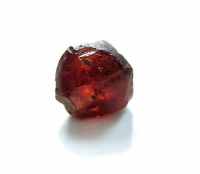 Rough Malaya Garnet Red Natural Gemstone 27 Carats # 1055