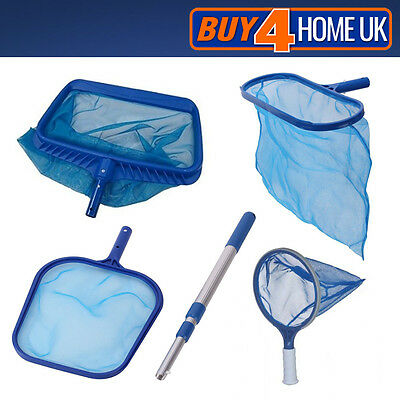 Essentials Swimming Pool Leaf Skimmer Net - Spa Koi Fish Pond Hot Tub Cleaning