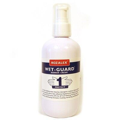 Rozalex Wet-Guard Barrier Cream 250ml Pump Bottle Hand Sanitiser Protect - T9002
