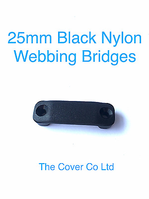 25mm Webbing Strap Fittings, YKK side release buckles, Ladder lock buckle, Nylon