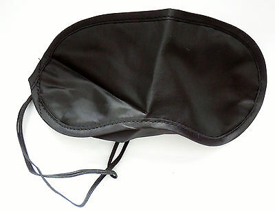 Black Blindfold shade eye sleep mask night shift travel mask cover