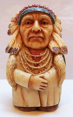Chief Joseph Pot Belly Collectible