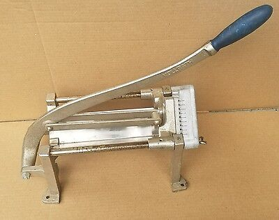 Vintage VOLLRATH Commercial French Fry Potato Slicer Cutter With Blade