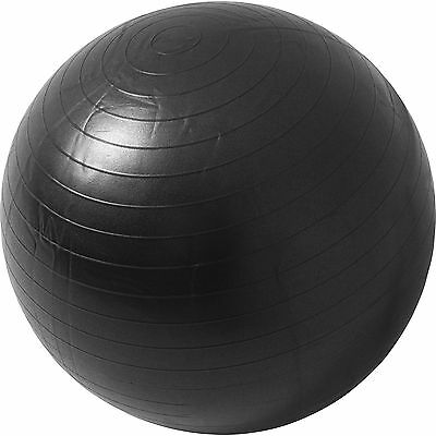 Ballon de gym - Swiss ball 65cm noir