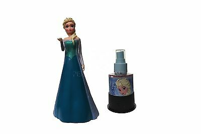 Frozen Elsa Figure by Disney 3.4oz/100ml Eau de Toilette Spray for Girls NEW