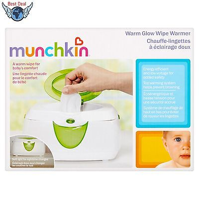 Munchkin Warm Glow Wipe Infant, Baby Milk Warmer Comfort, Safety, Travel, NEW