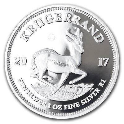 South Africa 2017 1oz Silver PROOF Krugerrand - First Release - 15,000 Mintage!