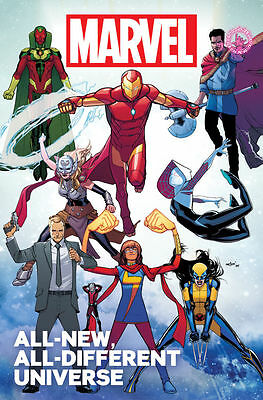 Marvel All-New All-Different Universe #1 2016 Marvel Comics
