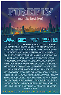 Firefly Music Festival 2017 - 4 Day General Admission + Collectable Pass