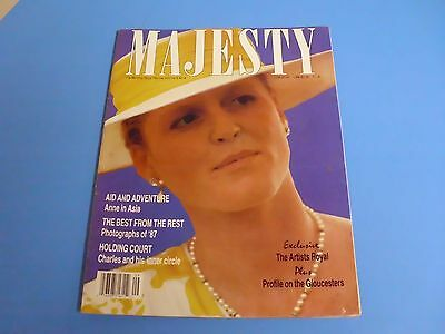 MAJESTY MAGAZINE THE MONTHLY ROYAL REVIEW VOLUME 8 No 9