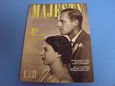 MAJESTY MAGAZINE THE MONTHLY ROYAL REVIEW VOLUME 8 No 7