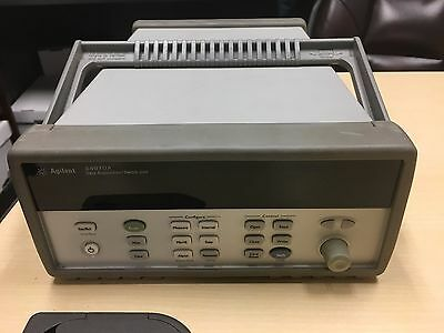 HP Agilent 34970A Data Acquisition/Switch Unit with 34901A module MUX - Quantity