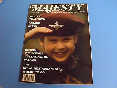 MAJESTY MAGAZINE THE MONTHLY ROYAL REVIEW VOLUME 7 No. 11