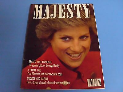 MAJESTY MAGAZINE THE MONTHLY ROYAL REVIEW VOLUME 9 No. 6