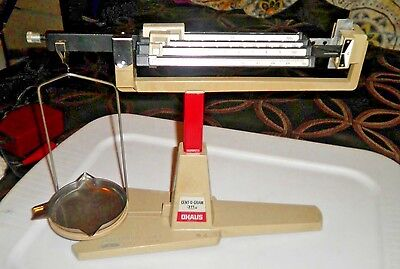 OHAUS 311g Cent-O-Gram Balance Precision Scale with Suspended Tray and Pan