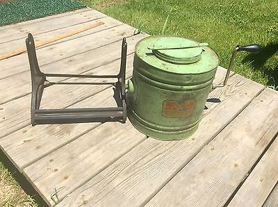 Daintee Manual Washer And Dry Cleaner , Antique Green , Metal  With Crank