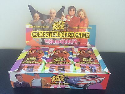5x Austin Powers CCG Spy Who Shagged Me Booster Pack Sealed