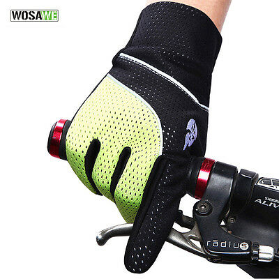 New Fashion Cycling Gloves Bike Bicycle Winter Full Fingers Gloves Sports M L XL