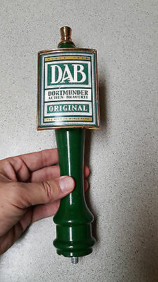 Vintage Dab Dortmunder Actien-Brauerei Green Beer Tap Handle *free Ship Option*