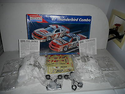 '87 Ford Thunderbird combo 1/24 scale Model  by Monogram