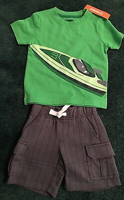 Baby boy Gymboree summer outfit/lot 6-12 months. Shorts and shirt. NWT new