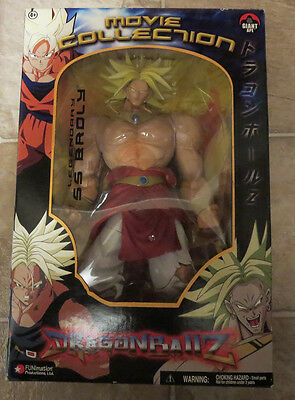 NEW RARE Dragonball Z Super Saiyan Broly Movie Collection figure Jakks figuarts