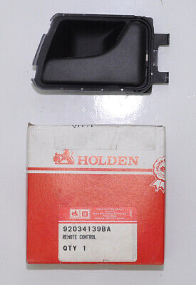 Genuine Holden VN VP VR VS Commodore Right Inner Door Handle (Black) GMH NOS