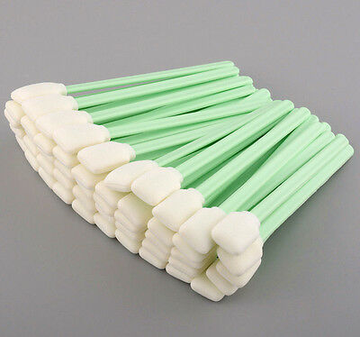 150PCS Foam Cleaning Cotton Swabs for Epson Roland Inkjet Printers 5'' Camera