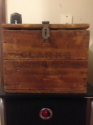 1940s Shipping Crate Dated Tag Railroad Tag Vintage Old Box Muskegon Michigan