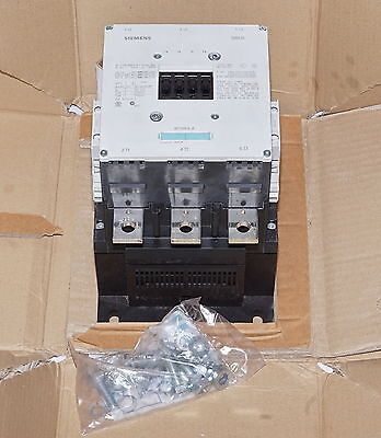 Siemens 3RT1076-6LA06 500A 250kW Contactor 3-Pole AC3/500A  *NEW*