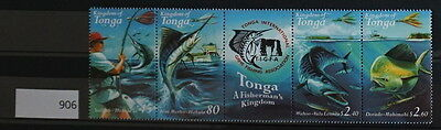 S0 0906 Fishes Poisson Fisch Tonga MNH  Marlin
