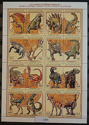 S0 1285 Dinosaurs Lybia MNH