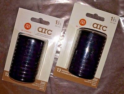 Lot of 2 Staples Arc Expansion Discs Packs, 1 1/2 inch, 12 in each pack