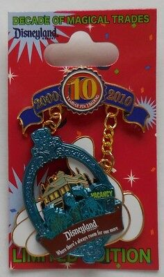 Disney Pin DLR Trading Mickey All American Pin Festival Haunted Mansion LE1000