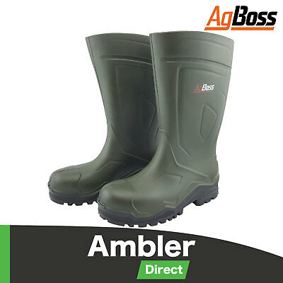 Bekina Gumboots Steplite X PU Non Safety Farm Work Boots