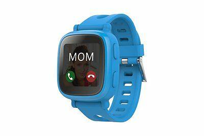 Oaxis kids child WatchPhone hybrid with 3G voice call tracking safety-Blue