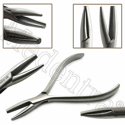 MEDENTRA® Orthodontics Wire Loop Forming Bending Pliers Concave Tip / Round X1
