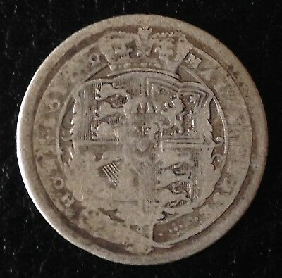 1816 Sixpence George III Silver Coin
