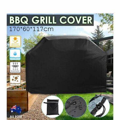 BBQ Grill Cover Waterproof 4 Burner Outdoor Gas Charcoal UV Protector Barbecue