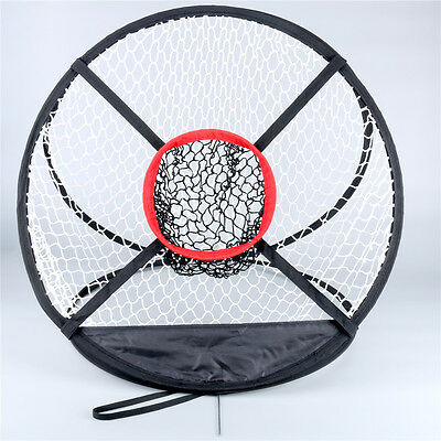 "20"" Portable Golf Training Chipping Net Hitting Aid Practice In/Outdoor Bag CA"