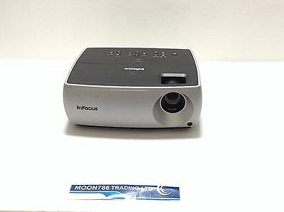 INFOCUS IN2102EP LCD PROJECTOR USED 817h LAMP HOURS IMAGE OK   REF:1059