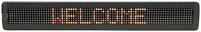7 x 80 Multi colour LED Moving message display, Power - 5Vdc, 3A [153.111UK]