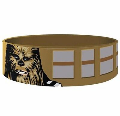 Star Wars Silicone Wristband Chewbacca OFFICIAL LUCASFILM MERCHANDISE