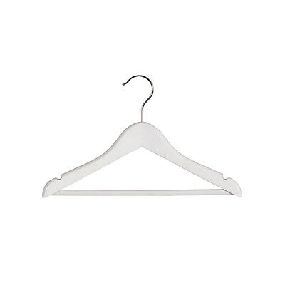 Timber baby hangers (colour white)